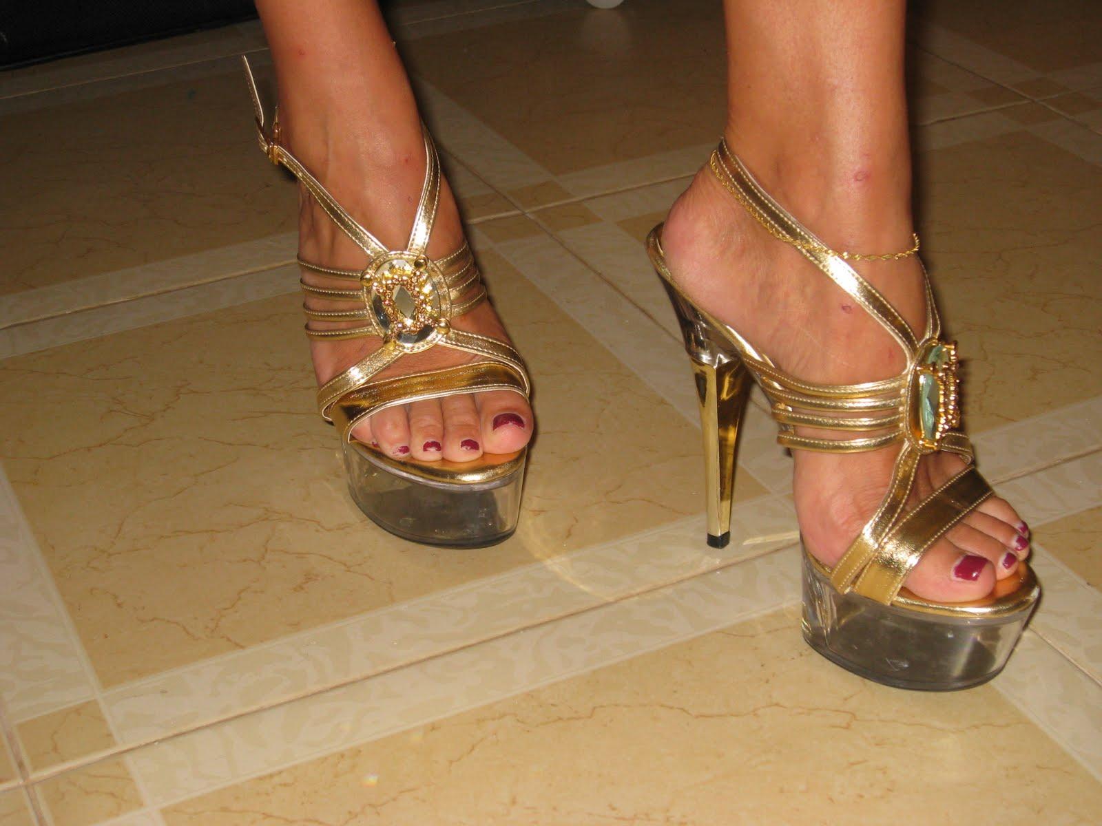 Sexiga kändis fötter